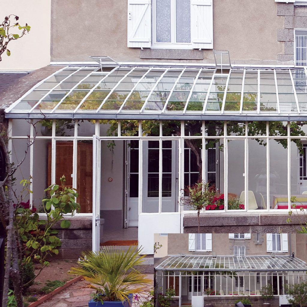 Restauration d'un Jardin d'hivers - Ville de Saint Brieuc