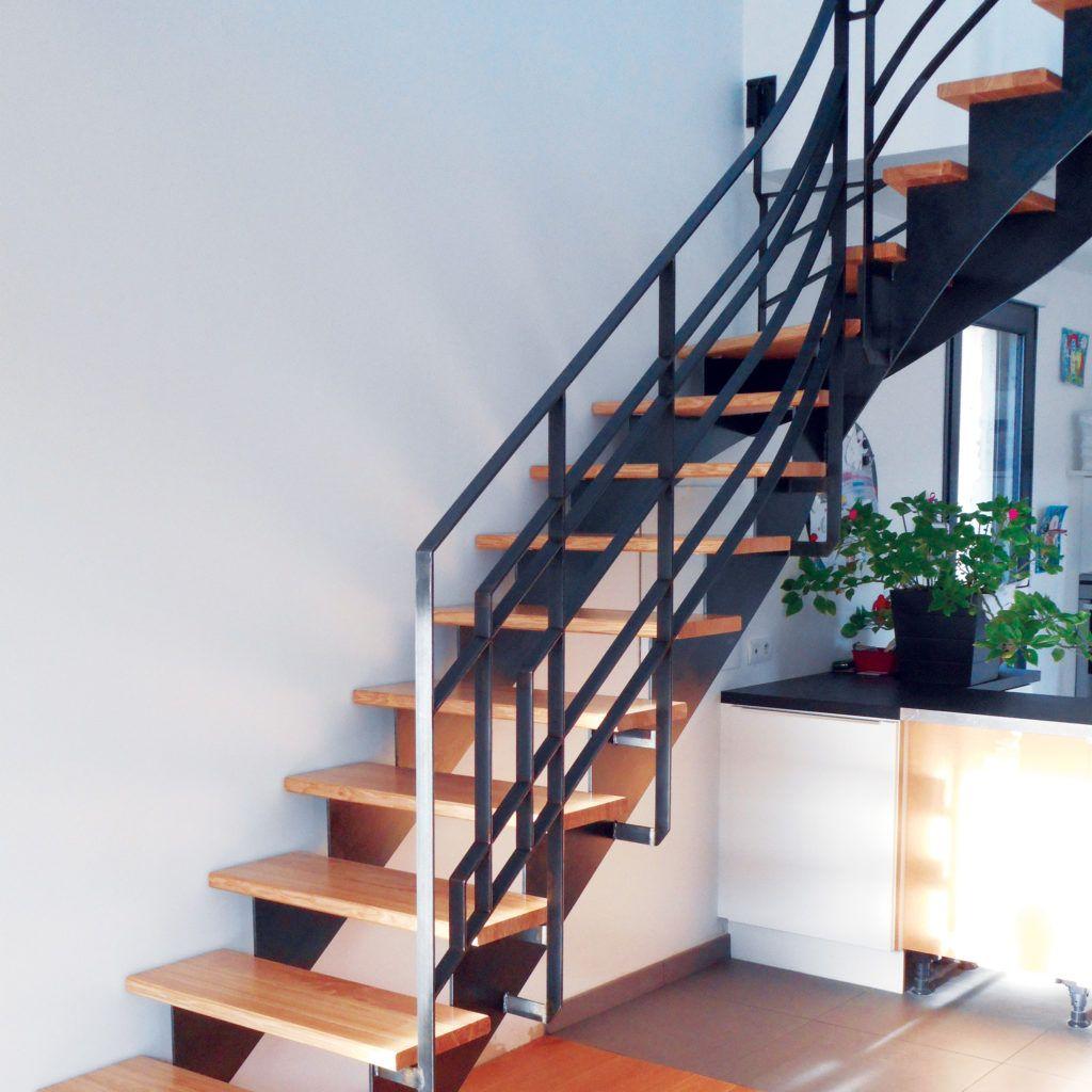 Escalier / Garde Corps - Modèle «Art Déco» -Ville de Binic