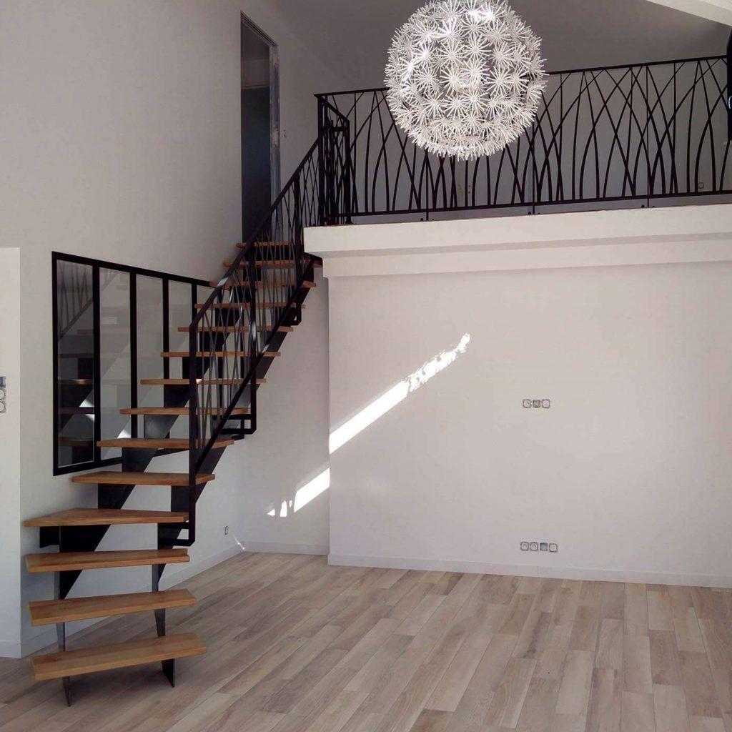 Escalier / Garde corps - Modèle «art déco» - Ville de Binic
