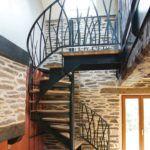 Escalier – Modèle «Herbage 3» – Ville de Moncontour