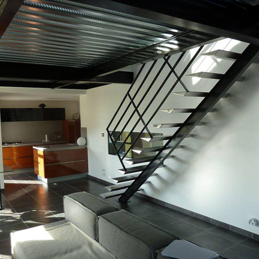 Escalier - Ville de Guingamp