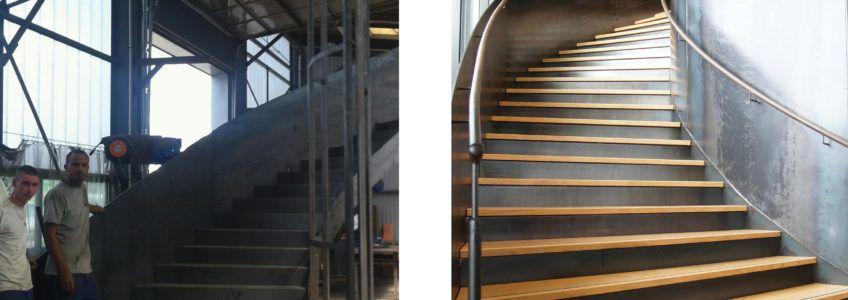 Escalier Monumental - Restaurant - Ville de Rennes