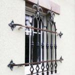 Grille de défence gothique - Ville d'Erquy