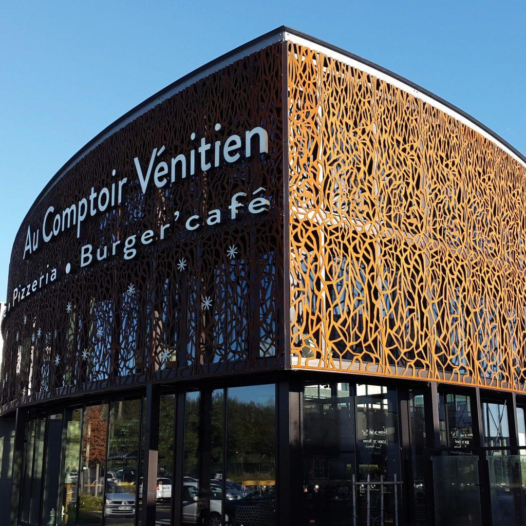 Vêture / Brise Soleil - Restaurant - Ville de Rennes
